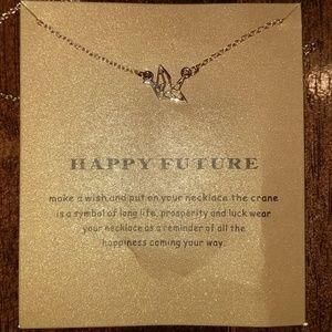 Happy future necklace